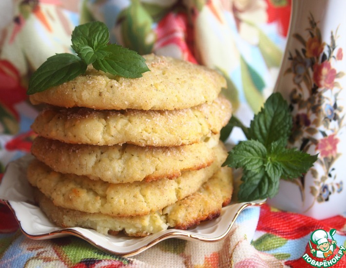 Рецепт: Мятные сырники