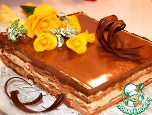 """Торт """"Лилия"""" – кулинарный рецепт"""