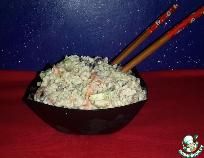 Рецепт: Салат Суши-комбо