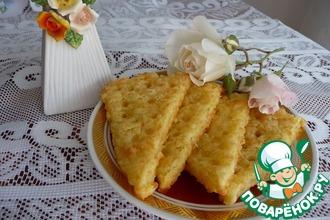 Рецепт: Крекеры с сыром