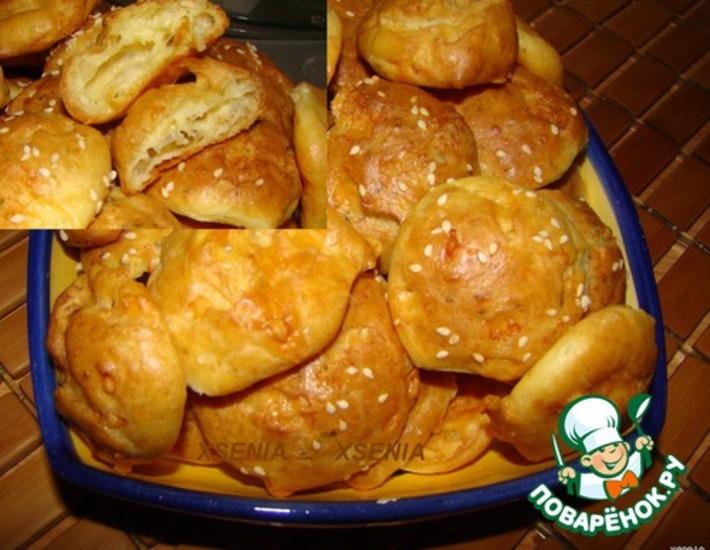 Рецепт: Печенье сырное Аперитивчики