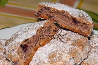 Рецепт: Творожно-овсяное печенье с изюмом