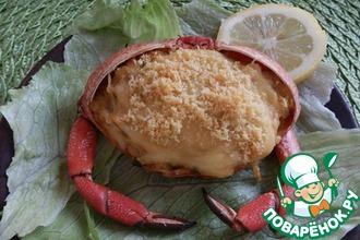 Рецепт: Крабовая запеканка Пастель де хайва