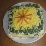 Пирог из крекеров Закусочный
