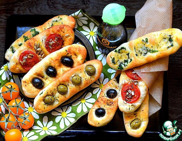 Рецепт: Лепёшки на пикник