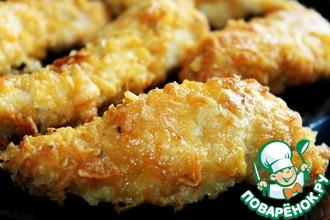 Рецепт: Курица в панировке из чипсов