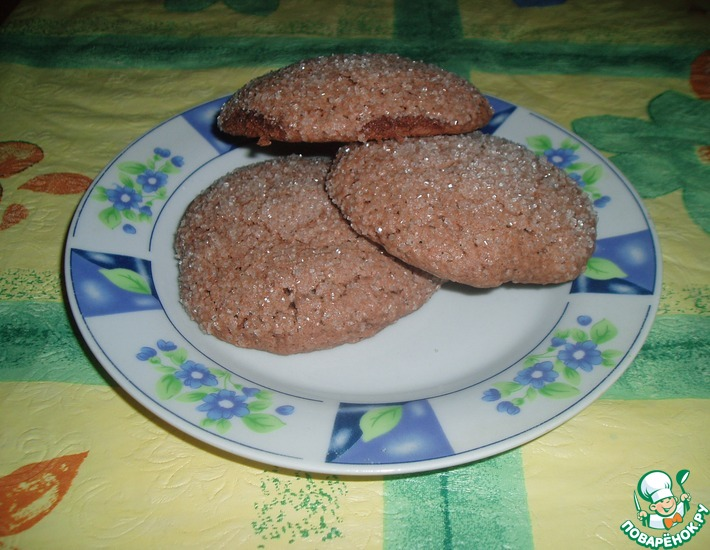 Рецепт: Печенье Сахаринки