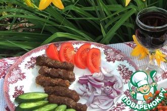 Рецепт: Колбаски Чевапчичи по-сербски