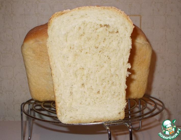 Рецепт: Хлеб пшеничный