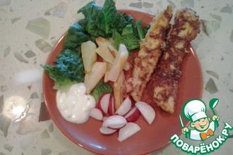 Рецепт: Вкусные домашние нагетсы