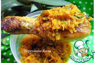 Рецепт: Морковно-апельсиновый соус