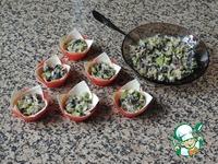 Корзинки с грибами ингредиенты