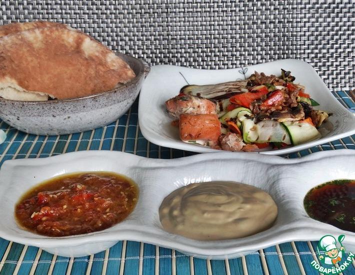 Рецепт: Три японских соуса для пикника