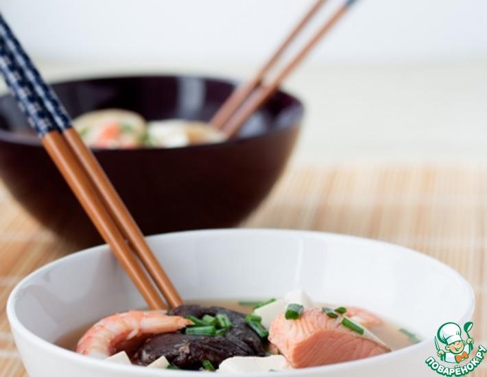 Рецепт: Солянка по-японски