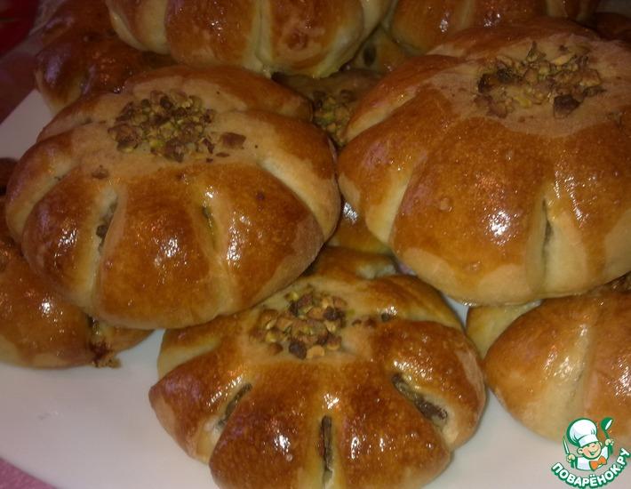 """Булочки """"Хлебные мешочки"""" – кулинарный рецепт"""