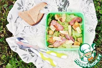 Рецепт: Салат из латука