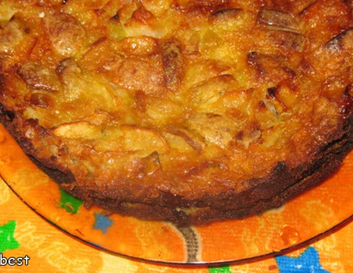 Рецепт: Французский яблочный пирог