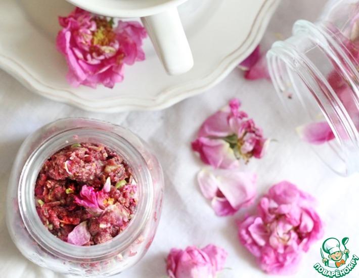 Рецепт: Роза чайная