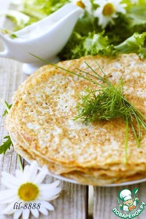 Pancakes of raw potatoes
