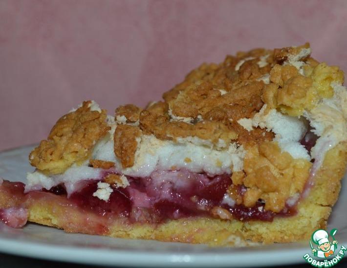 Рецепт: Пирог с черешней