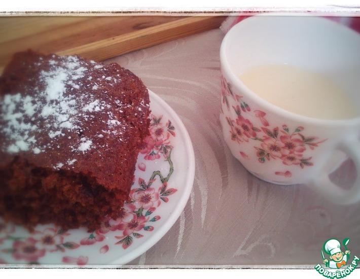 Рецепт: Быстрый пирог из варенья