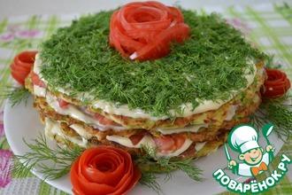 Рецепт: Торт из кабачков
