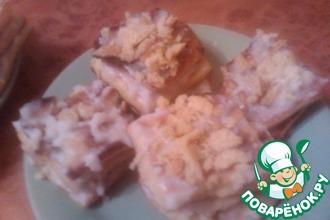 Рецепт: Пирожные на сковороде