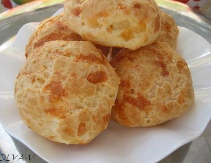 Рецепт: Заварные булочки с сыром