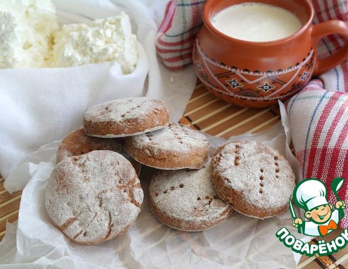 Рецепт: Финские кислые ржаные лепешки