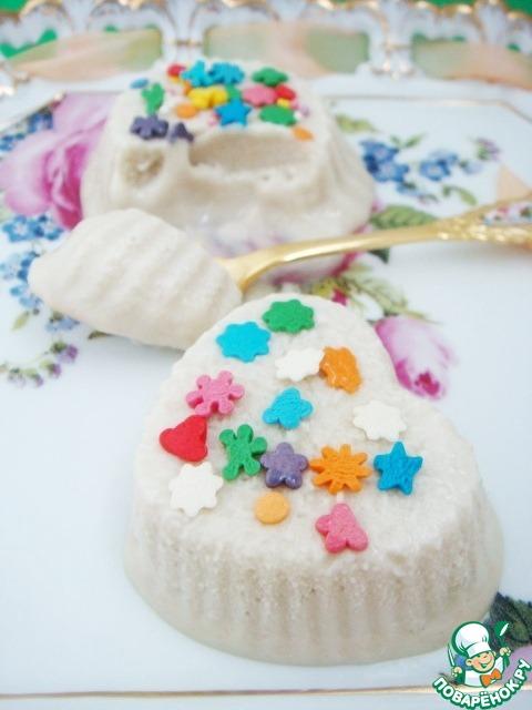 Кунжутно-лимонное мороженое