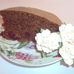 Пирог Пьяная вишня в мятном шоколаде