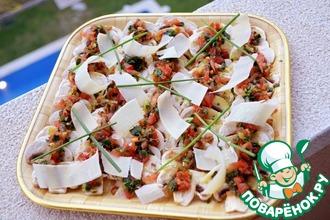Рецепт: Карпаччо из шампиньонов