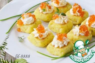 Рецепт: Картофельные мини-кексы со сливочным сыром
