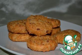 Рецепт: Сырное печенье (сабле) с беконом