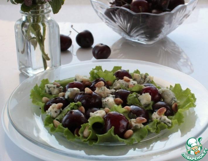 Рецепт: Салат с черешней