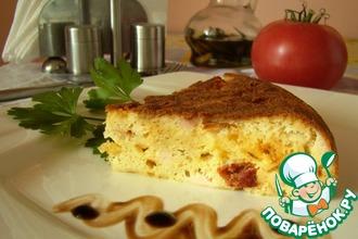 Рецепт: А-ля пицца Деревенская
