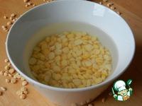 Суп с курицей, горохом и чесноком ингредиенты