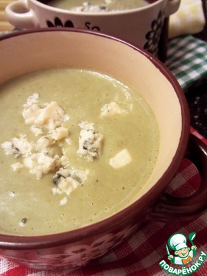 Рецепт Суп-пюре из щавеля с голубым сыром