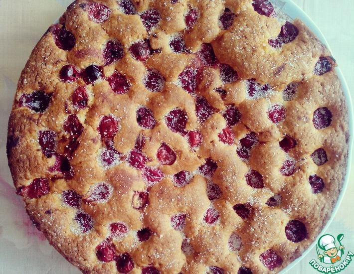 Рецепт: Пирог Вишневое наслаждение