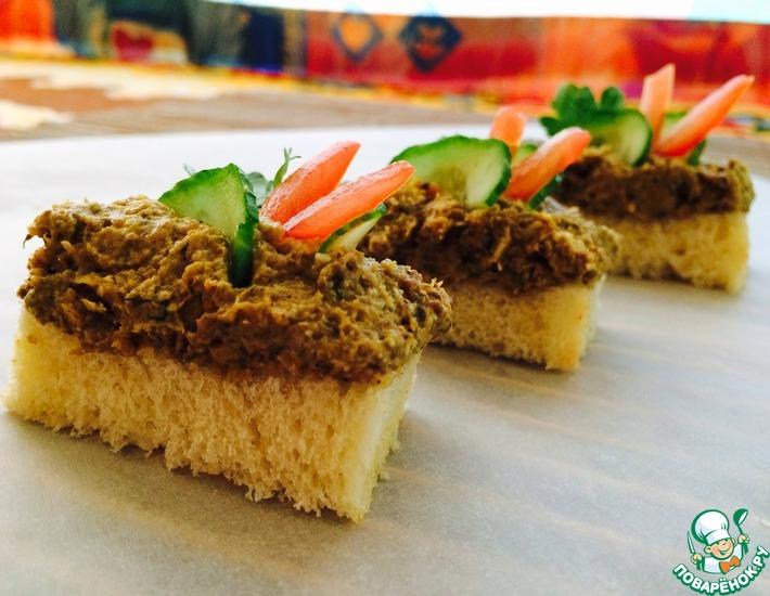 Рецепт: Паштет из кабачков и грибов Объедение