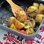 Пряные запеченные овощи