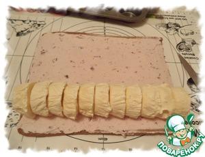 Бисквитный рулет с мороженым – кулинарный рецепт