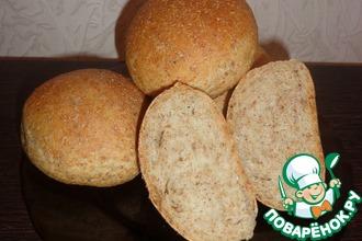Рецепт: Булочки и хлеб с отрубями