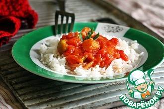 Рецепт: Тёмный соус к рису