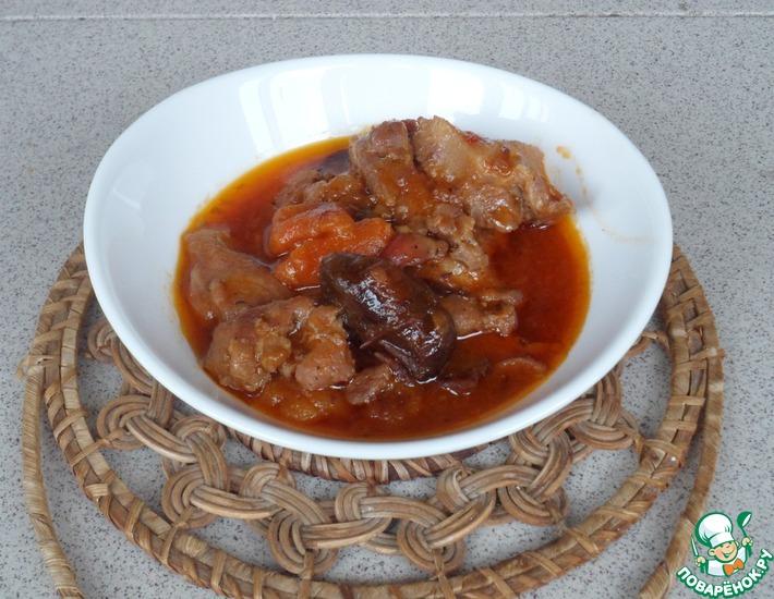 Рецепт: Санькино мясо