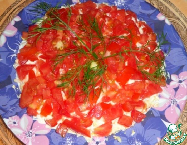 Рецепт: Салат Просто и вкусно
