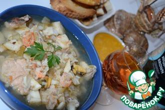 Рецепт: Суп французских рыбаков Буйабес