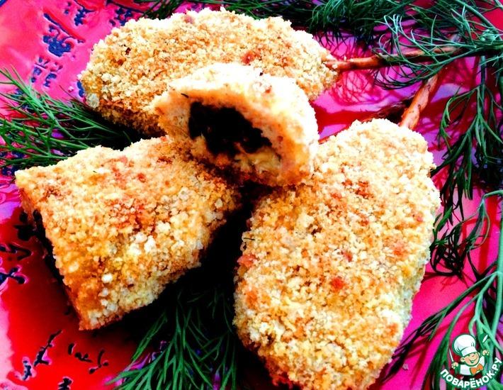 Рецепт: Шедевральные запеченные куриные котлеты на палочке
