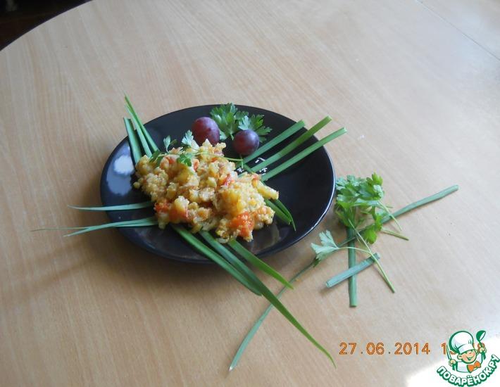 Рецепт: Тушёные овощиФантазия