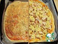 Острая пицца с халапеньо ингредиенты